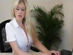 Big Boobs Blonde Pornstar POV
