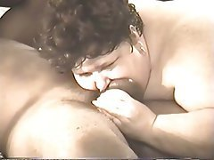 BBW Blowjob Interracial Mature