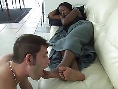 Femdom Foot Fetish Interracial Softcore
