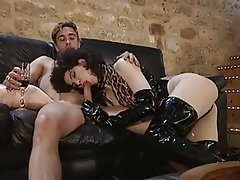 BDSM French Group Sex Latex Vintage