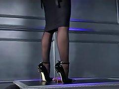 BDSM Femdom Foot Fetish Nylon