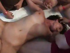 Amateur Creampie Group Sex