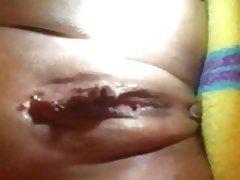 Close Up Orgasm Spanish Squirt