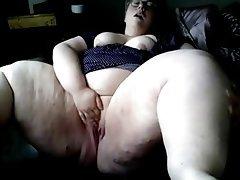 Amateur BBW Masturbation Orgasm