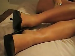 Amateur Foot Fetish Handjob