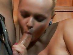Anal Babe Blonde Czech Double Penetration