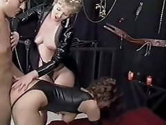 BDSM Femdom German Group Sex