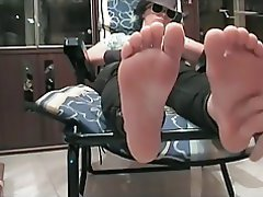 BDSM Femdom Foot Fetish British