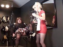 BDSM Femdom Medical Stockings