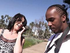 Blowjob Ebony POV Interracial