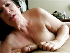 Blowjob Granny Mature POV