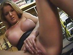 Babe Blonde Masturbation MILF