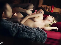 Blowjob Ebony Stockings Teen