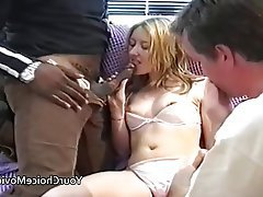 Amateur British Creampie Interracial