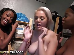 Big Boobs Interracial Lesbian