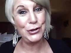 Blonde Mature Blowjob
