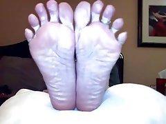 Amateur Foot Fetish POV
