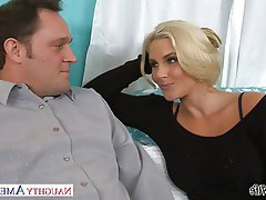 Blonde Blowjob Facial Hardcore Pornstar