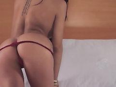 Babe Ebony Latina Panties