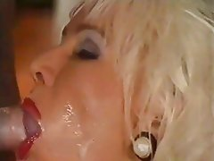 Anal Blonde Double Penetration MILF Stockings