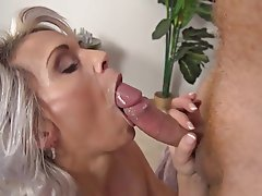 Blowjob Celebrity Facial Old and Young