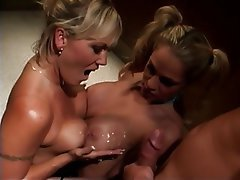 Blonde Group Sex