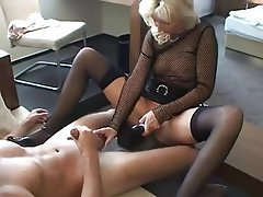 Old and Young Amateur Blonde German