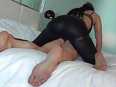 Big Butts CFNM Femdom Handjob