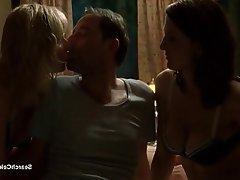 Babe Celebrity MILF Threesome