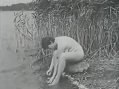 Hairy Outdoor Shower Vintage