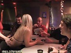 Blonde Czech Gangbang Group Sex