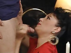 Anal Blowjob MILF Stockings