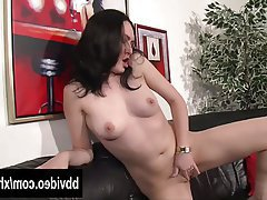 Brunette German MILF Softcore
