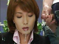 Asian Bukkake