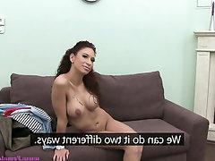 Anal Babe Casting Masturbation