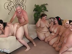 BBW Group Sex Hardcore
