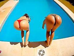 Big Boobs Big Butts Lesbian Outdoor