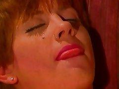 Anal Group Sex Redhead Stockings
