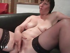 Amateur Anal Double Penetration French Mature
