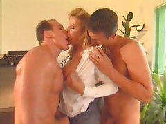 Big Boobs Double Penetration French Hardcore Mature