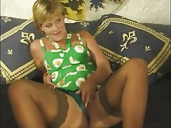 German MILF Old and Young Threesome