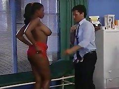 Big Boobs Interracial Pornstar Vintage