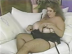 BBW Big Boobs MILF Stockings