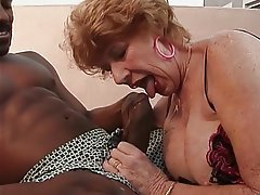 Blowjob Facial Interracial Lingerie