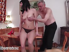 German Teen Voyeur Handjob