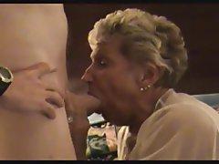 Granny Cumshot Blowjob