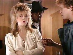 Blonde Pornstar Threesome Vintage
