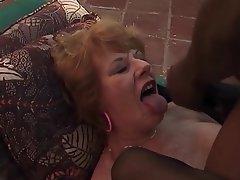 Granny Cumshot Facial Mature