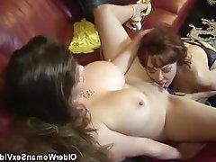 Big Boobs Lesbian Mature MILF
