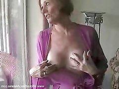 Amateur Cumshot Granny MILF